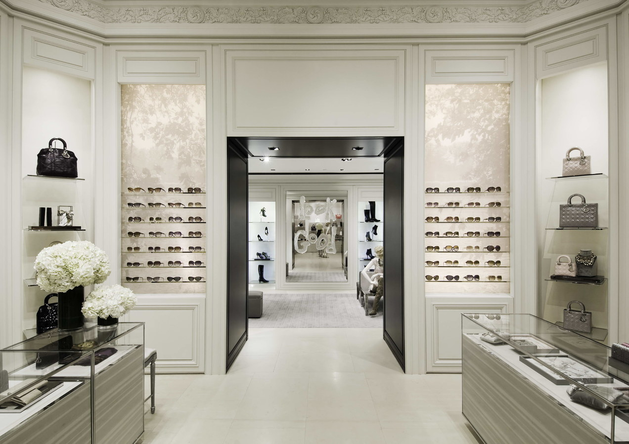 Dior corner, boutique South Coast Plaza
